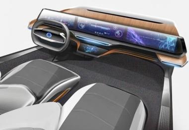 阿里AliOS发布智能驾驶舱渲染图,全车屏幕了解一下