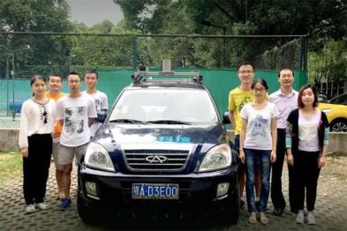 探密武汉大学无人车「途智号」「途e号」