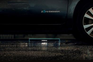 日产公布最新无线充电站,明年日内瓦车展公开展示