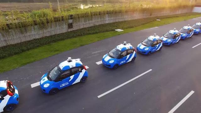 百度自动驾驶车