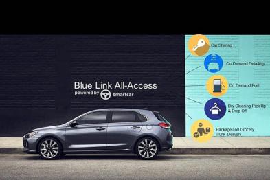 现代与Smartcar合作Blue Link All-Access互联汽车服务