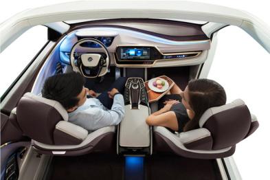 """英特尔首提""""乘客经济"""",2050自动驾驶市场红利达7万亿美元"""