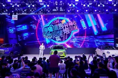 """劲擎6狗 恋上坦克"""" 长城汽车嗨翻2020广州车展"""