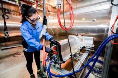 通用汽车在华展示纯电动相关技术