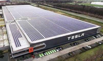特斯拉上海工厂主体已建成