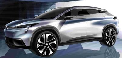 广汽新能源豪华纯电超跑SUV完整大图!NEDC综合续航超600km