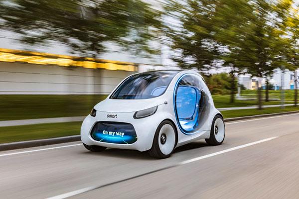 smart vision EQ fortwo概念车