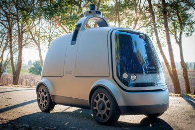 离开谷歌17个月,他俩发布了L4无人配送车