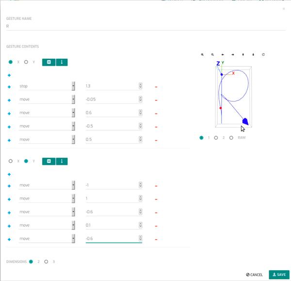 必要時, 使用簡單的腳本編輯器進一步修飾軌跡