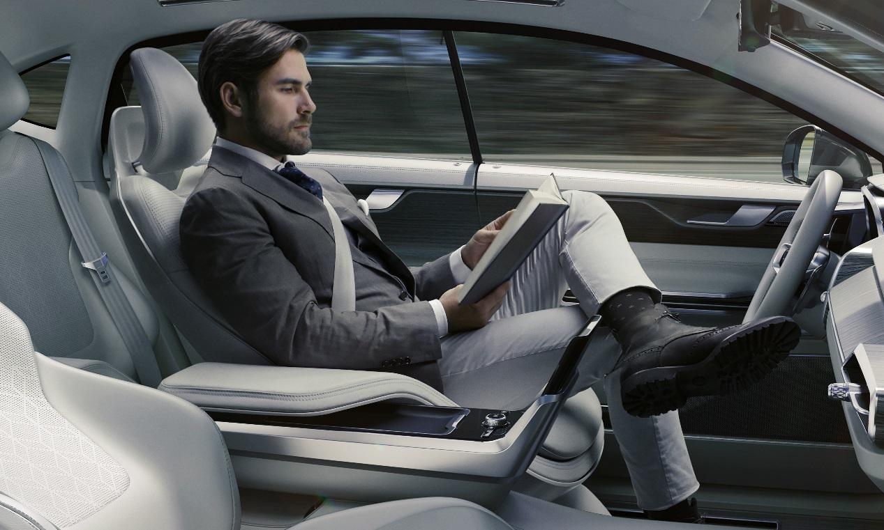 沃尔沃未来自动驾驶概念舱C26