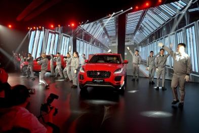 捷豹首款国产SUV E-PACE下线,常熟工厂二期投产