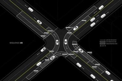 取消交通灯,看看麻省理工为无人驾驶设计的道路系统