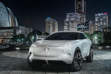 英菲尼迪首款纯电SUV本月首发