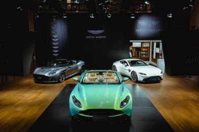 在华发展进入全新阶段,阿斯顿·马丁亮相2018广州车展