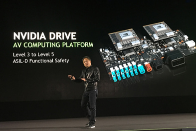 英伟达发布首个开放式自动驾驶平台DRIVE