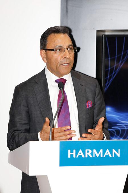 哈曼国际总裁兼首席执行官包利华先生