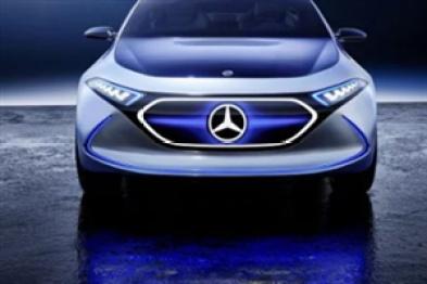 奔驰EQ首款量产车日内瓦车展亮相