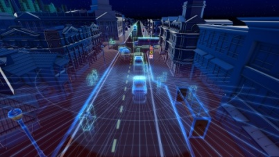 英偉達自動駕駛平臺增威力登傳感器