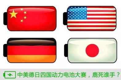 动力电池四国大战,谁能率先占领制高点?