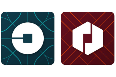 Uber新LOGO背后的故事:二进制和原子带来设计灵感