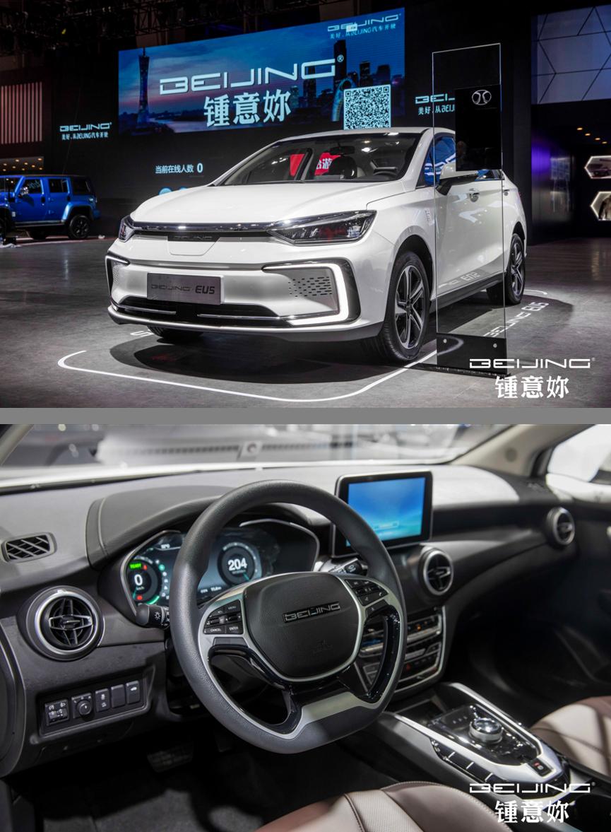 人工智能轿车新典范——BEIJING-EU5