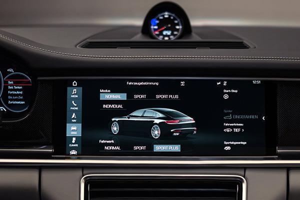 保时捷Porsche Connect人车交互系统