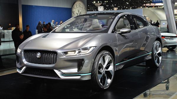 捷豹路虎首款纯电动概念SUV—I-PACE