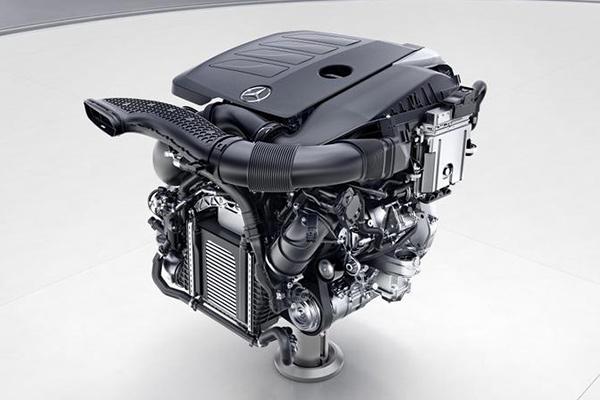 新一代奔馳模塊化四缸發動機M264