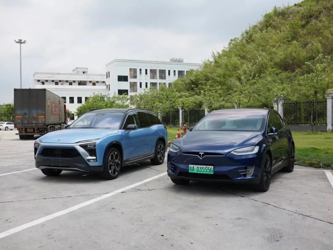 「蔚来 ES8」vs「特斯拉 Model X」