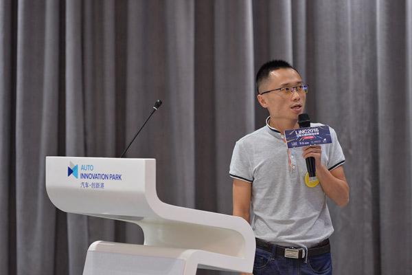 北京博创联动科技有限公司产品合伙人徐发锐