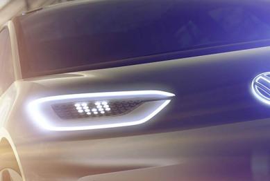 大众发布全新纯电动概念车预告图