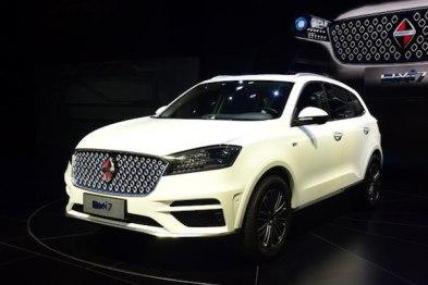 宝沃推出纯电动车型BXi7,最快今年底上市