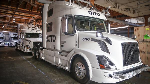 Otto公司专注研发大型车辆自动行驶技术。今年八月,Otto被Uber收购。