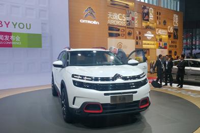 东风雪铁龙上海车展发布中高级SUV天逸