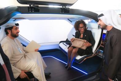 艾康尼克又一款吸睛作 无人驾驶概念车MUSE什么背景