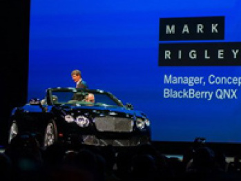 黑莓高调进军智能车载系统,首次实现汽车与手机视频通话