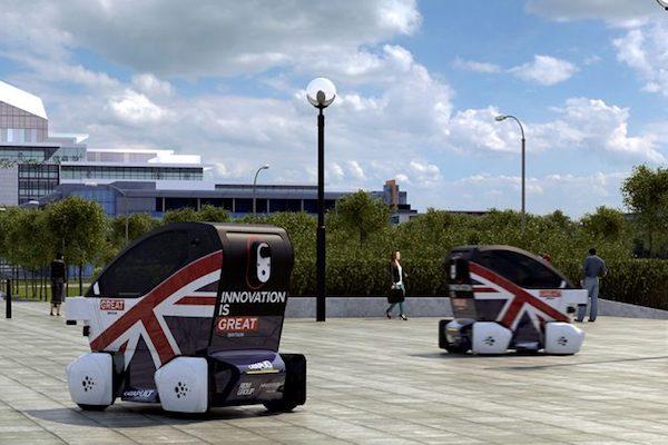 英国无人驾驶车Lutz