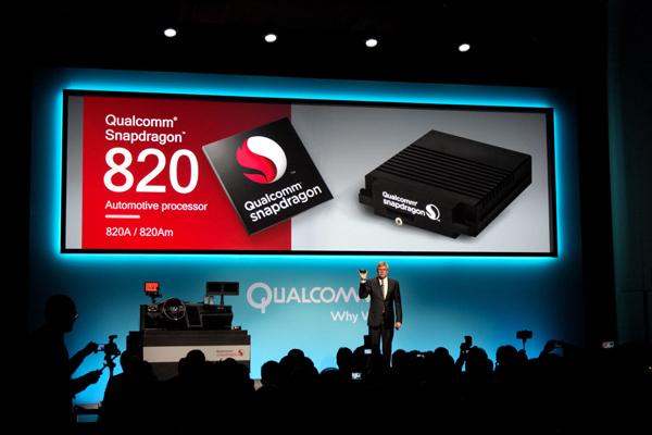 高通2016年CES上推出了骁龙820A车规级芯片平台