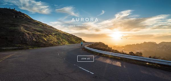 Aurora官方网页截图,目前仅有「加入我们」一个入口