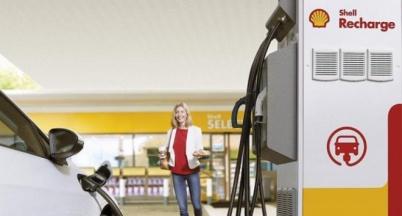壳牌在英国配置150kW电动车充电设备
