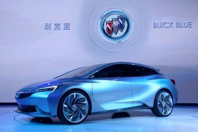 别克在广州车展发布Velite新能源概念车