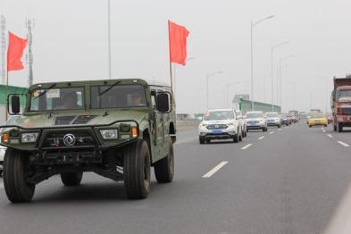东风风神AX7纪念抗战胜利70周年探访之旅走进南京