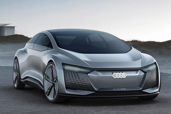 奥迪自动驾驶概念车AIcon
