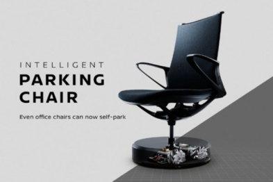 日产发布了一款可以自动回位的智能办公椅