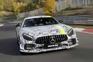 AMG GT家族最强版本曝光,将于洛杉矶车展首发
