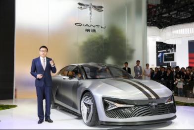 """打造纯电""""驾趣"""" 前途汽车携三大平台车型亮相2018北京车展"""
