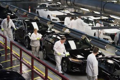 因高田安全气囊故障 本田将在美国召回约100万辆汽车