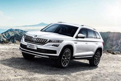 国产斯柯达柯迪亚克官图公布,将于广州车展首发