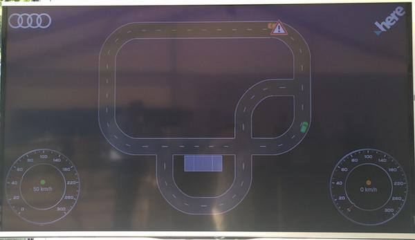 演示系统实时采集到的车辆故障信息