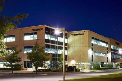 黑莓为无人驾驶汽车研发中心投资7500万美元